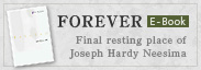 FOREVER �\Final resting place of Joseph Hardy Neesima